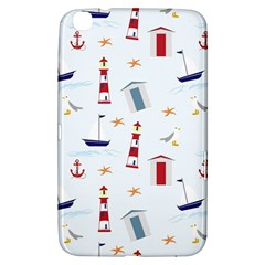 Seaside Beach Summer Wallpaper Samsung Galaxy Tab 3 (8 ) T3100 Hardshell Case