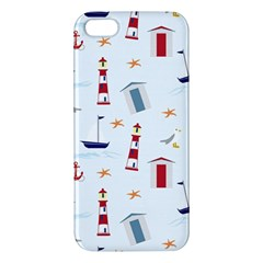 Seaside Beach Summer Wallpaper Iphone 5s/ Se Premium Hardshell Case