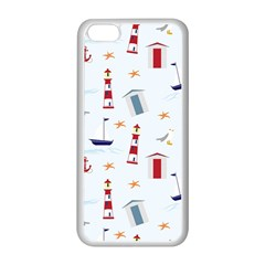 Seaside Beach Summer Wallpaper Apple Iphone 5c Seamless Case (white)