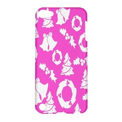 Pink Christmas Background Apple Ipod Touch 5 Hardshell Case