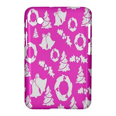Pink Christmas Background Samsung Galaxy Tab 2 (7 ) P3100 Hardshell Case