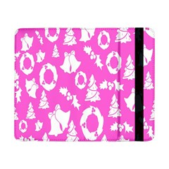 Pink Christmas Background Samsung Galaxy Tab Pro 8 4  Flip Case