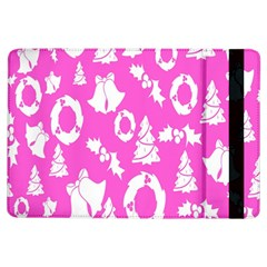 Pink Christmas Background Ipad Air Flip by Nexatart