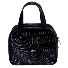 Fractal Mathematics Abstract Classic Handbags (2 Sides) by Nexatart