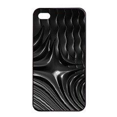 Fractal Mathematics Abstract Apple Iphone 4/4s Seamless Case (black)