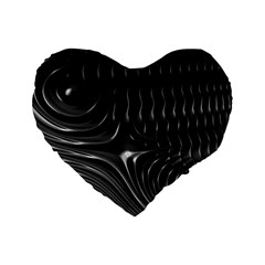 Fractal Mathematics Abstract Standard 16  Premium Heart Shape Cushions