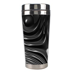 Fractal Mathematics Abstract Stainless Steel Travel Tumblers