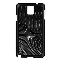 Fractal Mathematics Abstract Samsung Galaxy Note 3 N9005 Case (black)