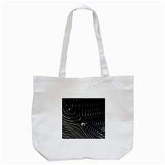 Fractal Mathematics Abstract Tote Bag (white)