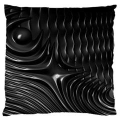 Fractal Mathematics Abstract Large Flano Cushion Case (one Side)