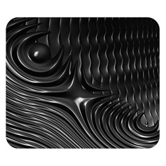 Fractal Mathematics Abstract Double Sided Flano Blanket (small)