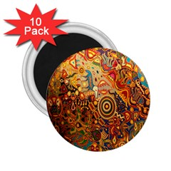 Ethnic Pattern 2 25  Magnets (10 Pack)  by Nexatart