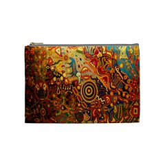 Ethnic Pattern Cosmetic Bag (medium)