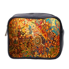 Ethnic Pattern Mini Toiletries Bag 2 Side