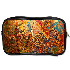 Ethnic Pattern Toiletries Bags 2 Side