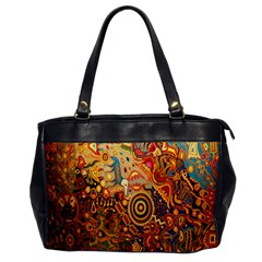 Ethnic Pattern Office Handbags