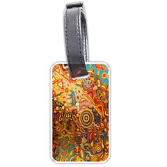 Ethnic Pattern Luggage Tags (one Side)