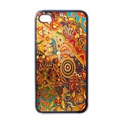 Ethnic Pattern Apple Iphone 4 Case (black)