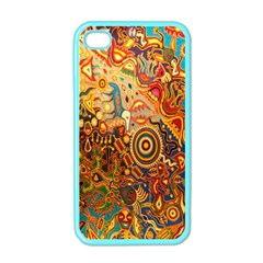 Ethnic Pattern Apple Iphone 4 Case (color) by Nexatart