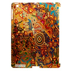 Ethnic Pattern Apple Ipad 3/4 Hardshell Case (compatible With Smart Cover)