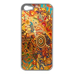 Ethnic Pattern Apple Iphone 5 Case (silver)