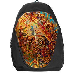 Ethnic Pattern Backpack Bag