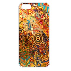 Ethnic Pattern Apple Iphone 5 Seamless Case (white)