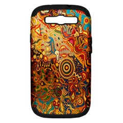 Ethnic Pattern Samsung Galaxy S Iii Hardshell Case (pc+silicone)
