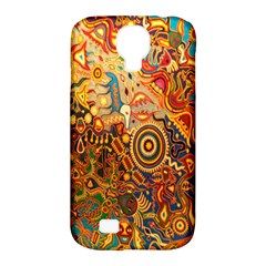 Ethnic Pattern Samsung Galaxy S4 Classic Hardshell Case (pc+silicone)