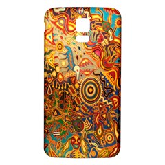 Ethnic Pattern Samsung Galaxy S5 Back Case (white)