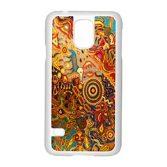 Ethnic Pattern Samsung Galaxy S5 Case (white)