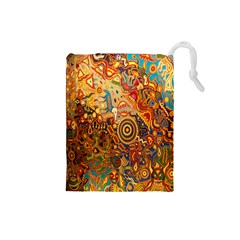 Ethnic Pattern Drawstring Pouches (small)