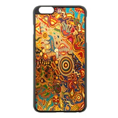 Ethnic Pattern Apple Iphone 6 Plus/6s Plus Black Enamel Case