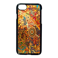 Ethnic Pattern Apple Iphone 7 Seamless Case (black)