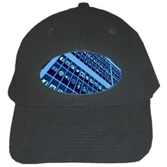 Mobile Phone Smartphone App Black Cap