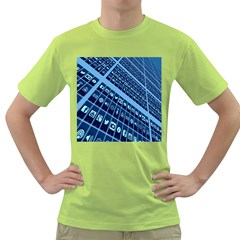 Mobile Phone Smartphone App Green T Shirt