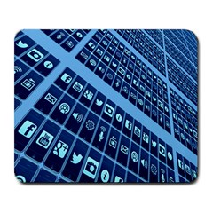 Mobile Phone Smartphone App Large Mousepads