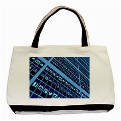Mobile Phone Smartphone App Basic Tote Bag (two Sides)
