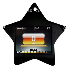 Interior Car Vehicle Auto Ornament (star)