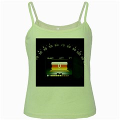 Interior Car Vehicle Auto Green Spaghetti Tank