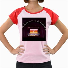 Interior Car Vehicle Auto Women s Cap Sleeve T Shirt