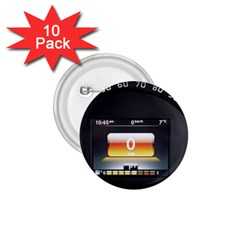 Interior Car Vehicle Auto 1 75  Buttons (10 Pack)