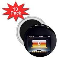 Interior Car Vehicle Auto 1 75  Magnets (10 Pack)