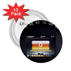 Interior Car Vehicle Auto 2 25  Buttons (10 Pack)