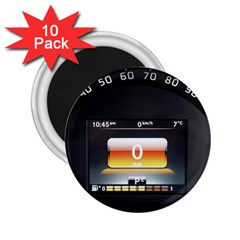 Interior Car Vehicle Auto 2 25  Magnets (10 Pack)