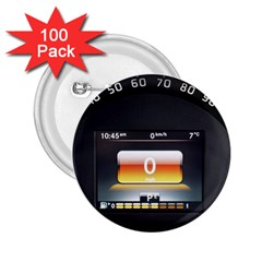 Interior Car Vehicle Auto 2 25  Buttons (100 Pack)