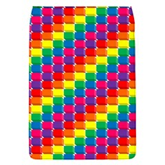 Rainbow 3d Cubes Red Orange Flap Covers (s)  by Nexatart