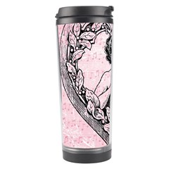 Heart Drawing Angel Vintage Travel Tumbler by Nexatart