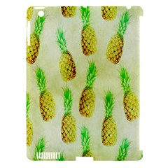 Pineapple Wallpaper Vintage Apple Ipad 3/4 Hardshell Case (compatible With Smart Cover) by Nexatart