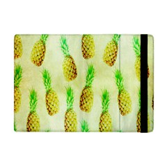 Pineapple Wallpaper Vintage Apple Ipad Mini Flip Case by Nexatart